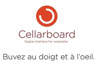 Cellarboard, a Digital Interface for wine cellar ( prototype )