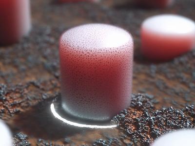 Soft Pink motion graphics design motion design cinema 4d 3d