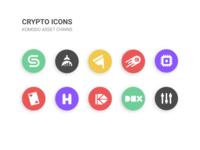 Crypto Icons - Komodo
