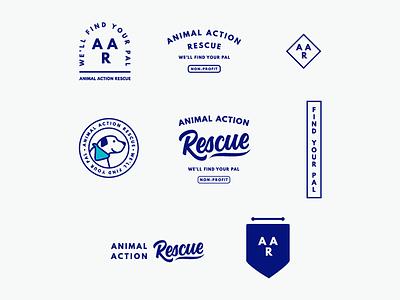 Brand Logo Suite for Non-Profit Foster Dog Association branding agency communications design brand branding development