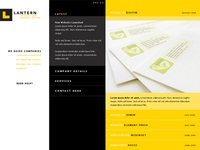 3-Column Portfolio Site