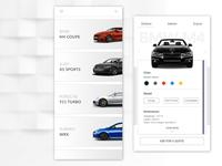 Cars quote app