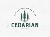 Classic Logo Of Cedar