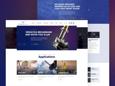 High tech Company Website 🛰 high tech design webdesign website company
