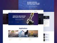 High tech Company Website 🛰