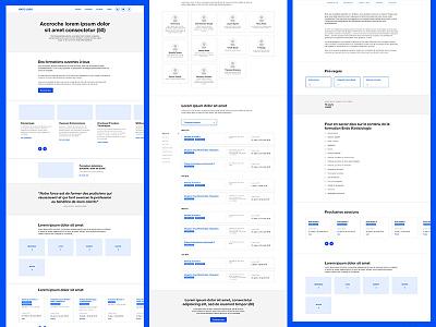 UX/UI kit 🖊️ cards ui kit ux kit ui prototype layout clean sketch blue wireframe design mockup wireframe design ux ui design ux