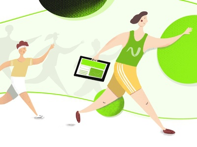 Increase app's performance - blogpost illustration