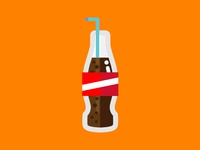 Soda flat icon