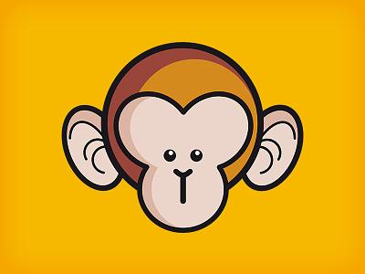 Little Monkey cartoon monkey illustration