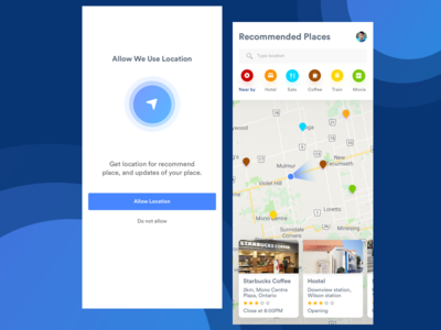 Recommend Places App