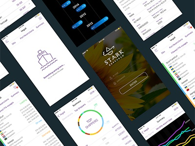 Stark iOS app @solardigital digitalagency app ios webdevelopment webdesign branding logo brand