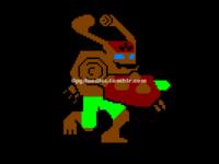 Sklyander Giant Tree Rex 8-bit