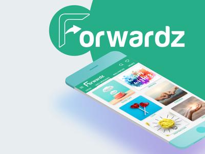Forwardz App branding ux ui