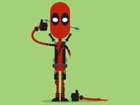 Wacky Deadpool Fanart
