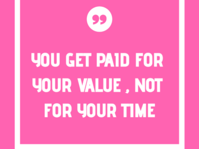 Quote about the value