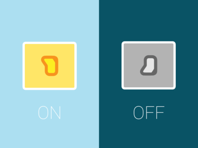 Daily UI challenge #015 On Off Switch