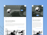 Responsive Webdesign Mockup