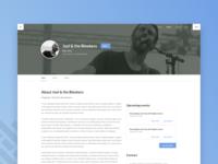 Desktop Webdesign Mockup
