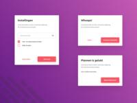 Dialogs UI