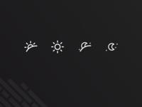 Sunrise to Sunset Icon Exploration