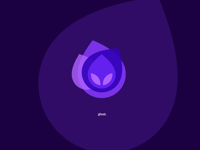 Ghost Icon illustration ux ui flat design icon ghost