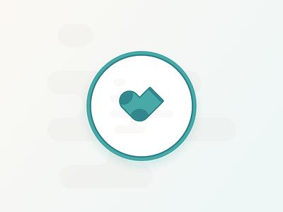 Sticker Mule Giveaway logo vector icon illustration flat design