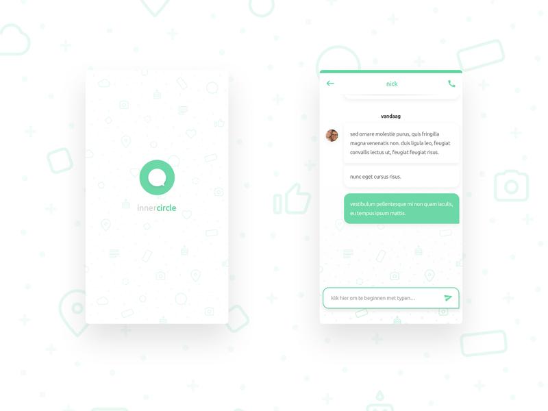 Innercircle Mobile UI Mockup