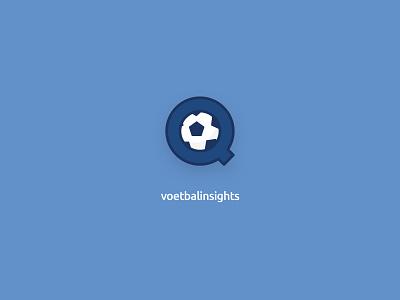 Football Insights Logo branding logo illustration vector app ux ui flat design