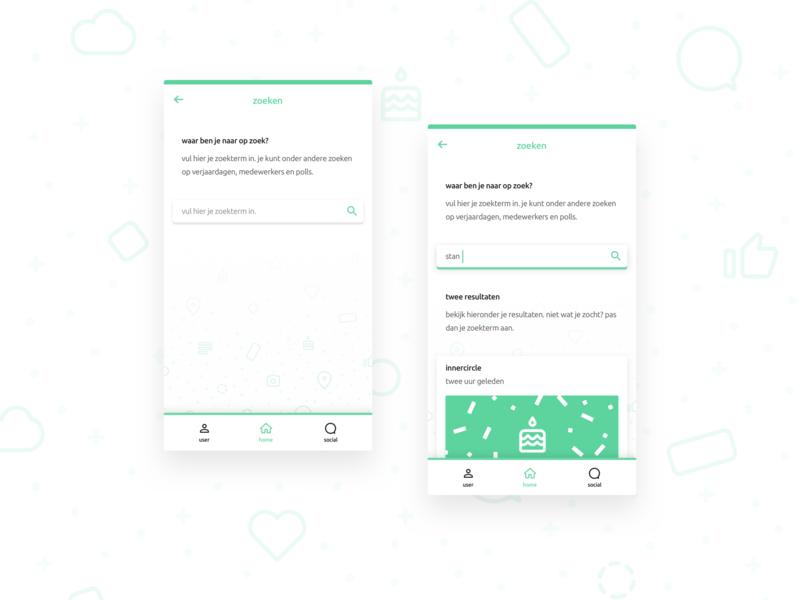 Mobile Search UI