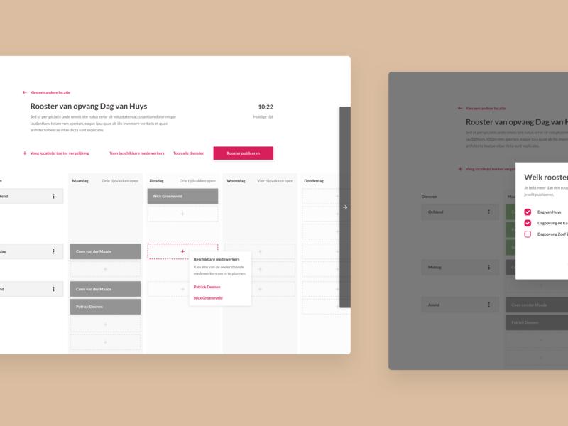 Planning Tool UI mockup website typography webdesign web app illustration ux ui flat design