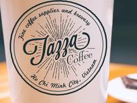 Tazza Coffee Shop Logo