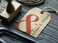 Adams & Abigail Logo Design