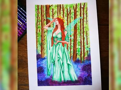 Green Fairy illustration