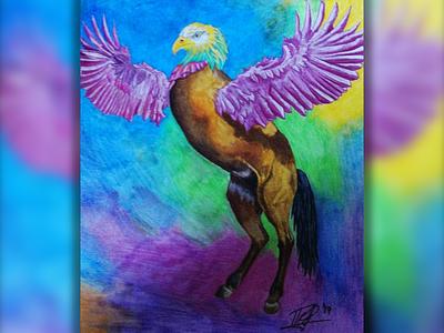 The EagleHorse illustration