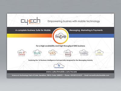 Cytech Exhibition, Large Canvas Banner canvas graphic design