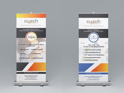 CYTECH Rollup Banner Design design rollup banner graphic design