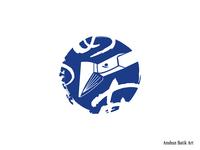 The logo for Anshun Batik Art