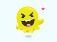Mascot Theme design of Jr. Otco