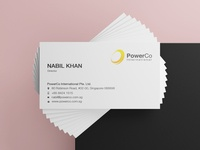 PowerCo Business Card