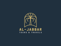Logo design curated for a Tours & Travels Agency