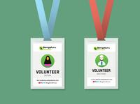 Volunteer Card Design