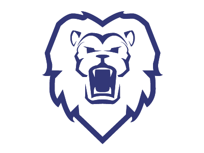 Lion mascot logo lion