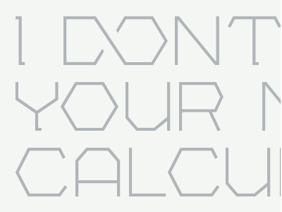 Fulcrum typeface type lettering bolt font