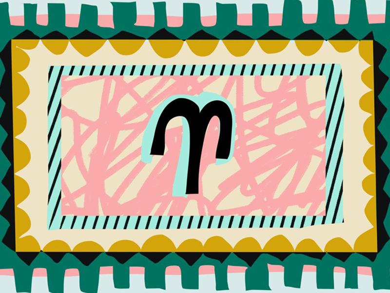 Teen Vogue Horoscopes teen vogue vogue teen design illustration aries horoscope