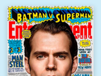 Superman Cover for Entertainment Weekly
