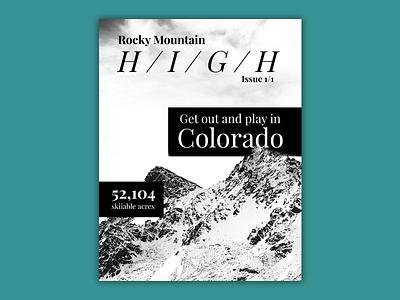 Magazine Cover layout graphic design design editorial magazine