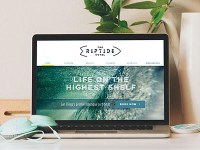 Riptide Website hotel hospitality wordpress css html design website