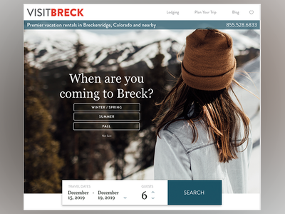 Travel Site interaction design uxui interactive graphic design design