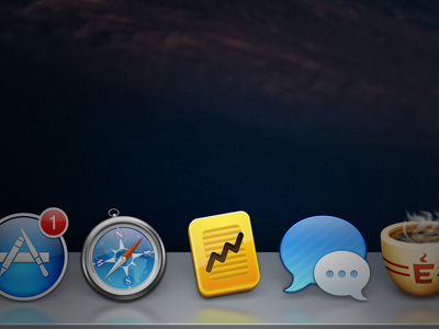 A new icon is born. mac icon osx gold bar sales trends