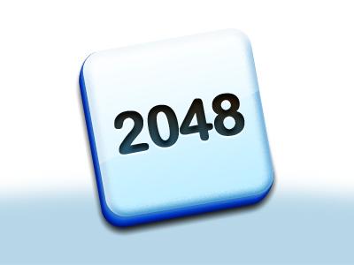 2048 Tiles! mac icon game 2048 tile gloss plastic